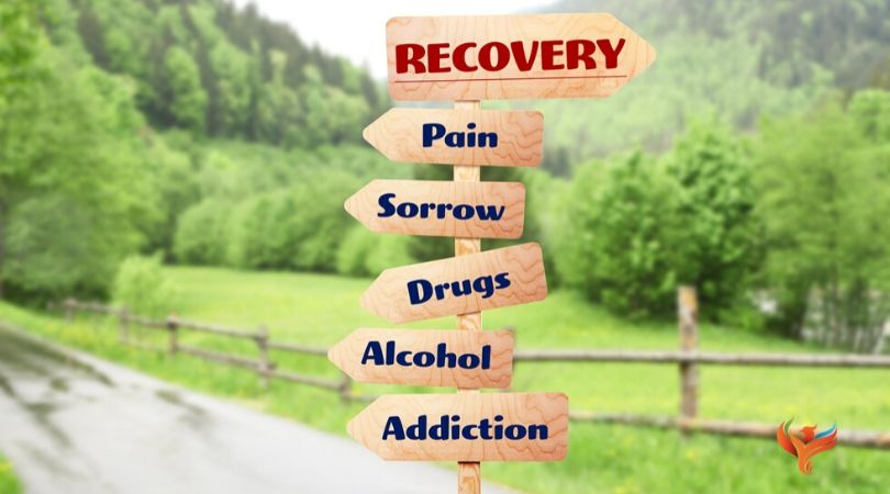 recovery sign board