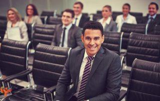 A medical professional attending EMDR session