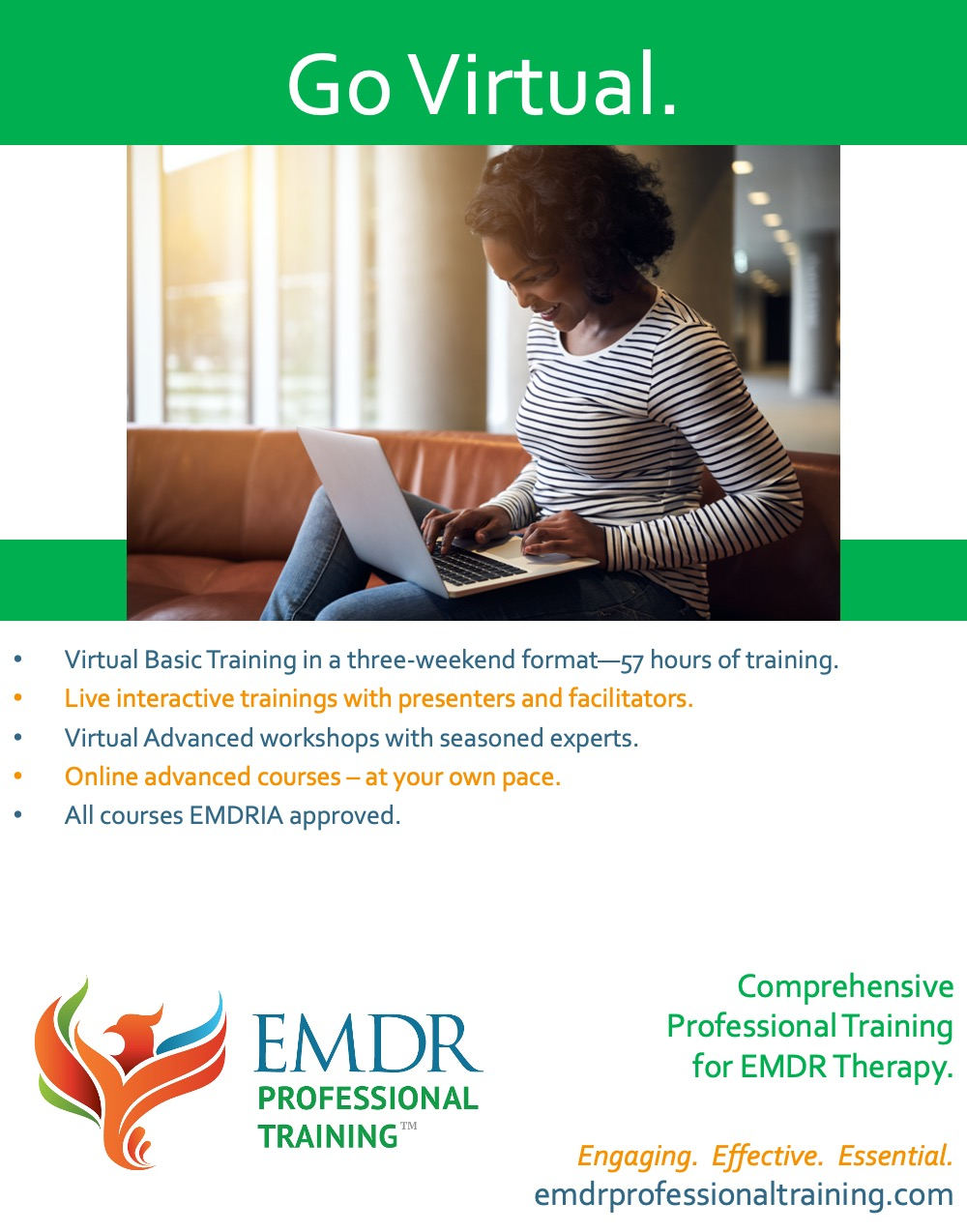 Comprehensive professional training for EMDR therapy